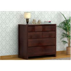 Barry Chest Of Drawers (Walnut Finish)