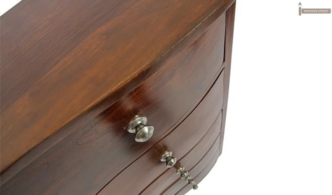 Bavuma Chest Of Five Drawers (Teak Finish)-7