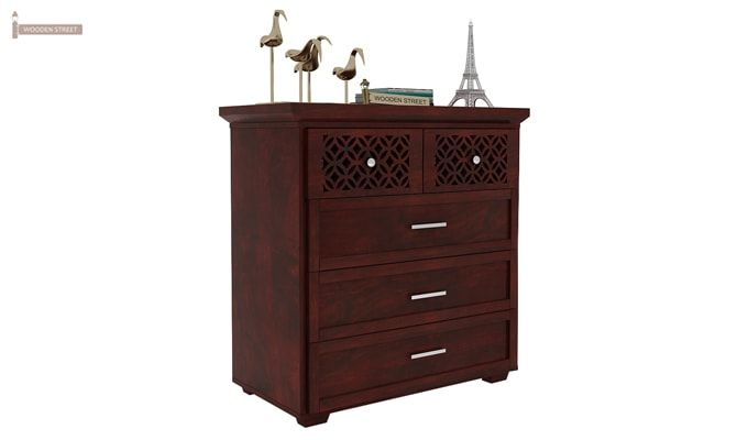 Cambrey Chest Of Drawer (Mahogany Finish)-1