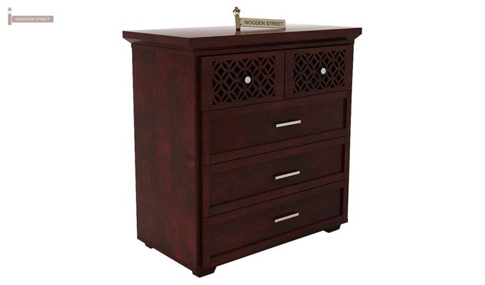 Cambrey Chest Of Drawer (Mahogany Finish)-4