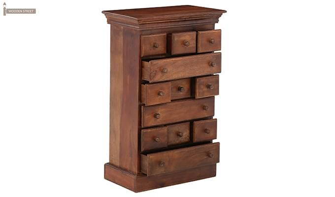 Chaplin Drawers Chest (Teak Finish)-2