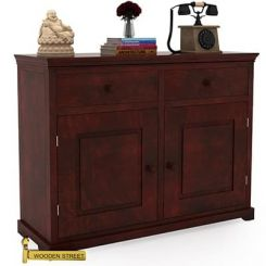 Charles Chest Of Drawers (Mahogany Finish)