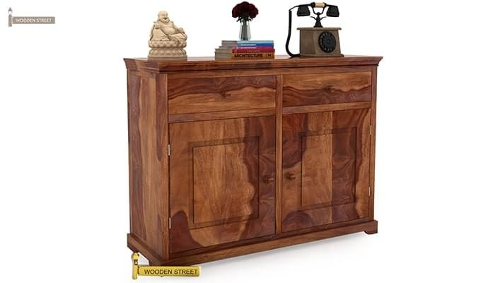 Buy Charles Chest Of Drawers Teak Finish Online In India