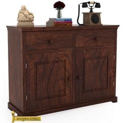 Charles Chest Of Drawers (Walnut Finish)