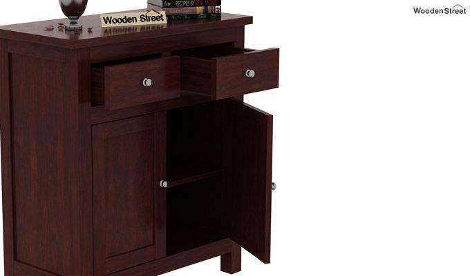 Clovis Cabinet With Drawers (Mahogany Finish)-5