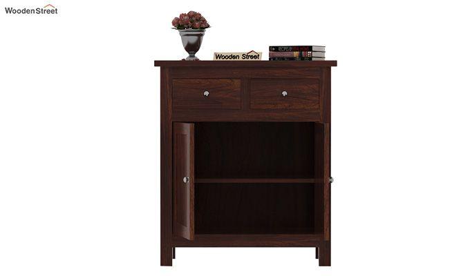 Clovis Cabinet With Drawers (Walnut Finish)-4