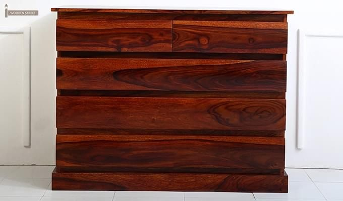 Colley Chest Of Drawer (Honey Finish)-4