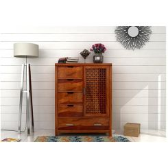 Crisco Chest Of Drawer (Honey Finish)