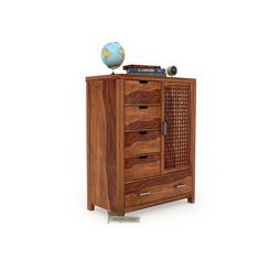 Crisco Chest Of Drawer (Teak Finish)