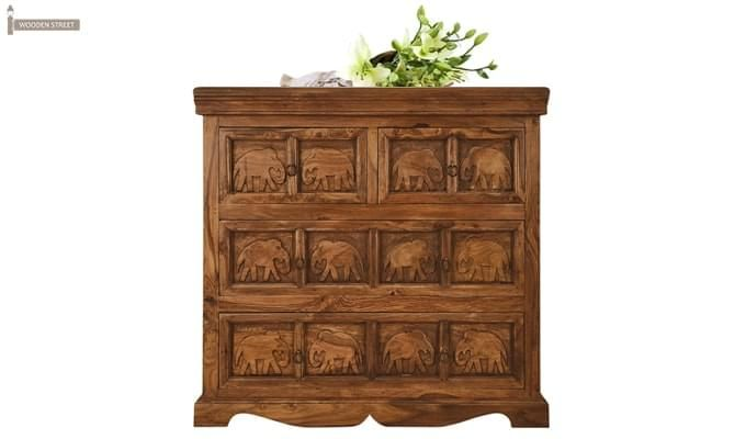 Ellsworth Cabinet Of Drawers (Teak Finish)-1