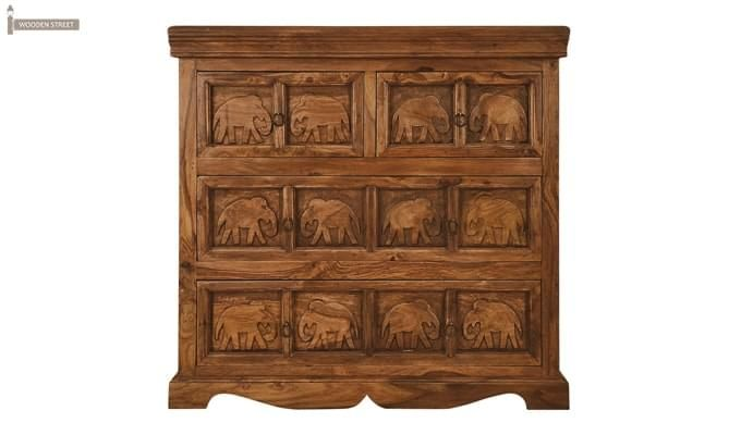 Ellsworth Cabinet Of Drawers (Teak Finish)-2