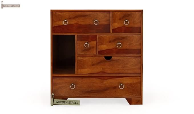 Emerson Chest Of Drawer (Honey Finish)-5