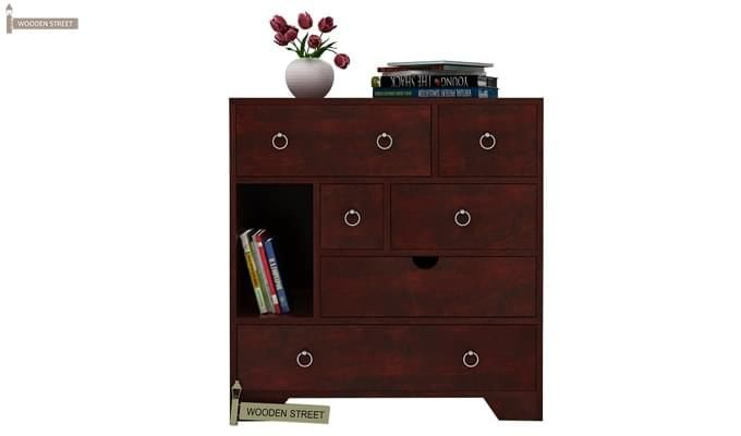 Emerson Chest Of Drawer (Mahogany Finish)-1