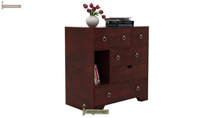 Emerson Chest Of Drawer (Mahogany Finish)-2