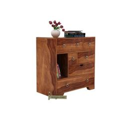 Emerson Chest Of Drawer (Teak Finish)