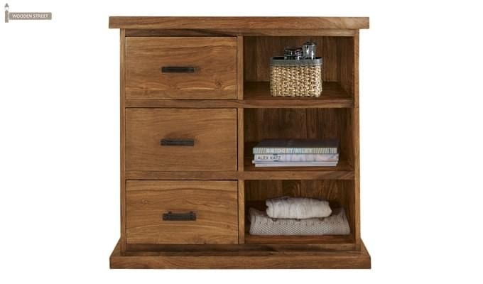 Emily Cabinet Of Drawers (Teak Finish)-1