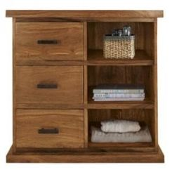 Emily Cabinet Of Drawers (Teak Finish)