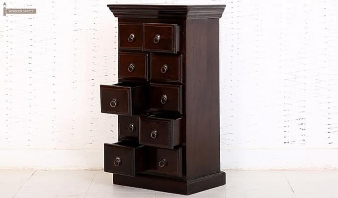 Finola Chest Of Drawers (Mahogany Finish)-5