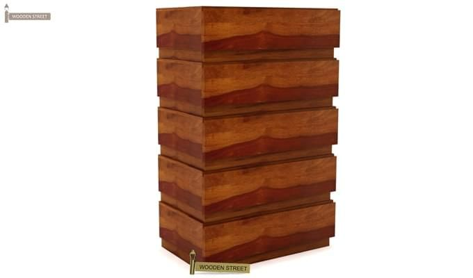 Florian Chest Of Drawer (Honey Finish)-4