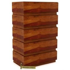 Florian Chest Of Drawer (Honey Finish)