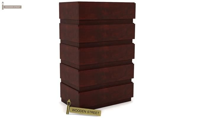 Florian Chest Of Drawer (Mahogany Finish)-3