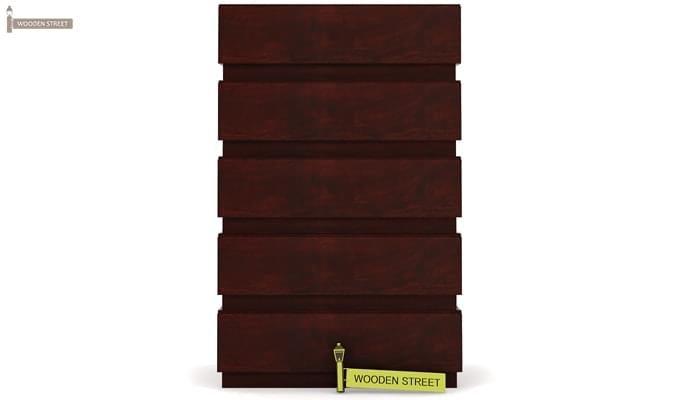 Florian Chest Of Drawer (Mahogany Finish)-4