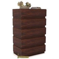 Florian Chest Of Drawer (Walnut Finish)