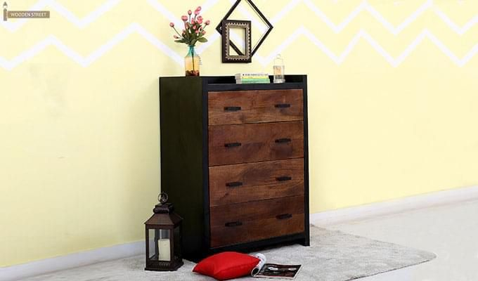 Andrew Chest Of Drawer (Teak Finish)-1