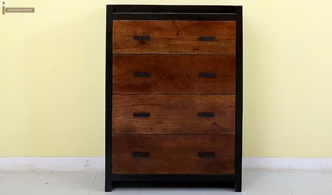 Andrew Chest Of Drawer (Teak Finish)-3