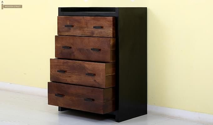 Andrew Chest Of Drawer (Teak Finish)-6