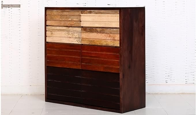 Grazor Chest Of Drawers (Mahogany Finish)-5
