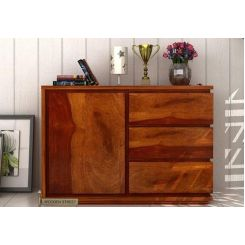 Hazeline Chest Of Drawer (Honey Finish)