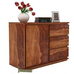 Hazeline Chest Of Drawer (Teak Finish)