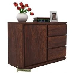 Hazeline Chest Of Drawer (Walnut Finish)