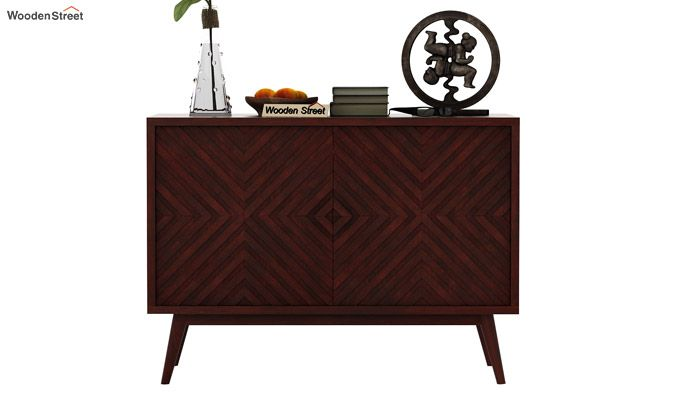 Horton Chest Of Drawer (Mahogany Finish)-3