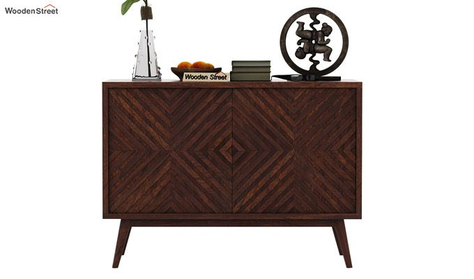 Horton Chest Of Drawer (Walnut Finish)-2