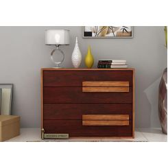 Leonara Chest Of Drawer (Mahogany Finish)