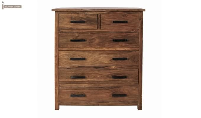 Naples Drawers Chest (Teak Finish)-2