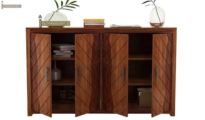 Neeson Sideboard (Teak Finish)-5