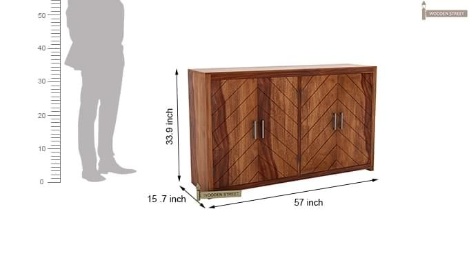 Neeson Sideboard (Teak Finish)-8