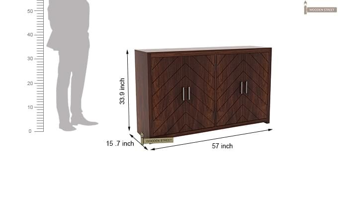 Neeson Sideboard (Walnut Finish)-8