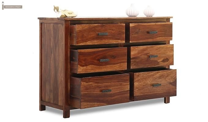 Olympus Chest Of Drawer (Teak Finish)-2