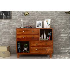 Rochel Chest Of Drawer (Honey Finish)