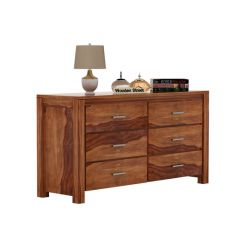 Serena Chest Of Drawers (Teak Finish)