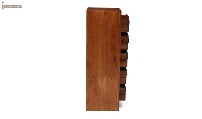 Turbo Cabinet Of Drawers (Teak Finish)-4