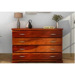 Warner Chest Of Drawer (Honey Finish)