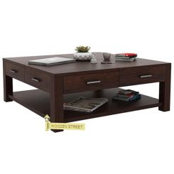 Borstein Coffee Table (Walnut Finish)