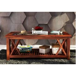 Duarte Coffee Table (Teak Finish)