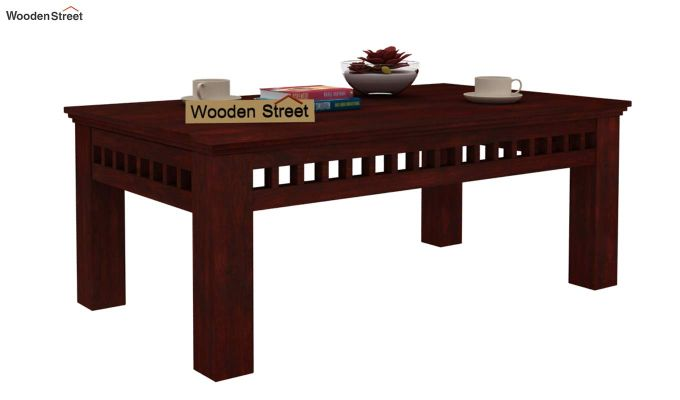 Adolph Coffee Table (Mahogany Finish)-1