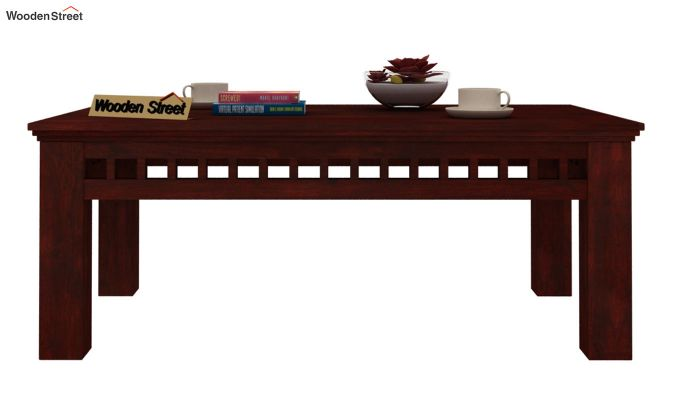 Adolph Coffee Table (Mahogany Finish)-2